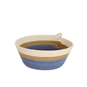 Bowl - Jute & Blue-Grey