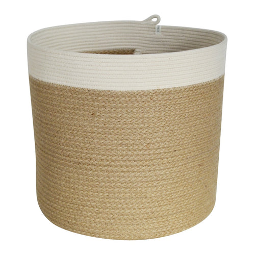 Cylinder Basket - Jute Jungle