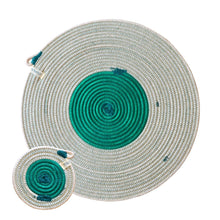 Placemats & Coasters Greenery (set of 4 each)