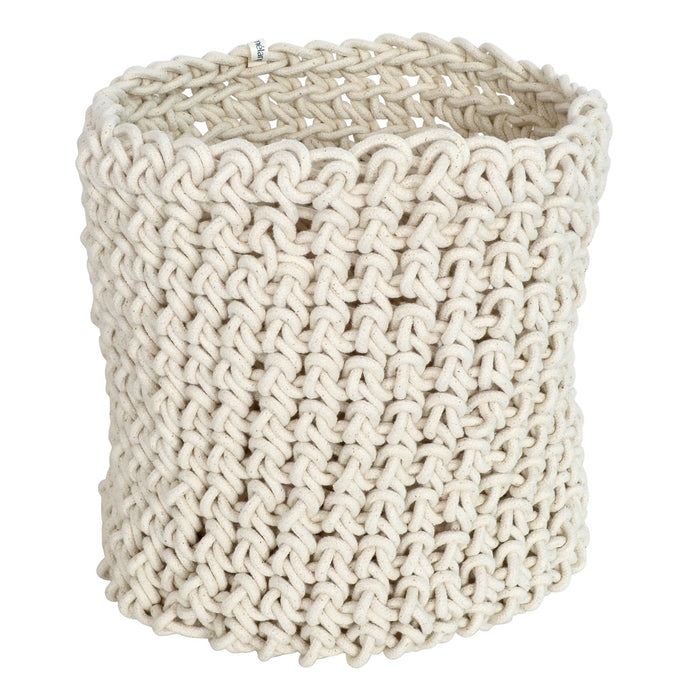 Loadshedding Cylinder Basket - Ivory