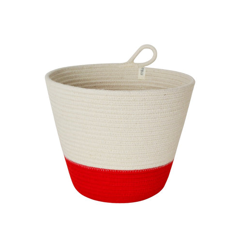 Planter Basket - Red Block