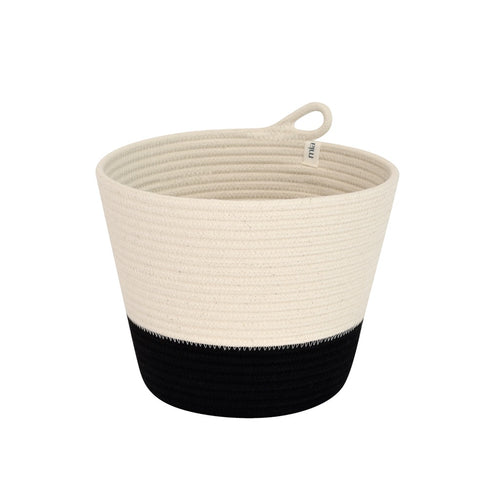 Planter Basket - Black Block