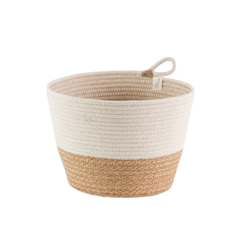 Planter Basket - Jute Block