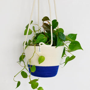 Hanging Planter Royal Blue