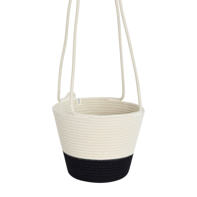 Hanging Planter Black Block