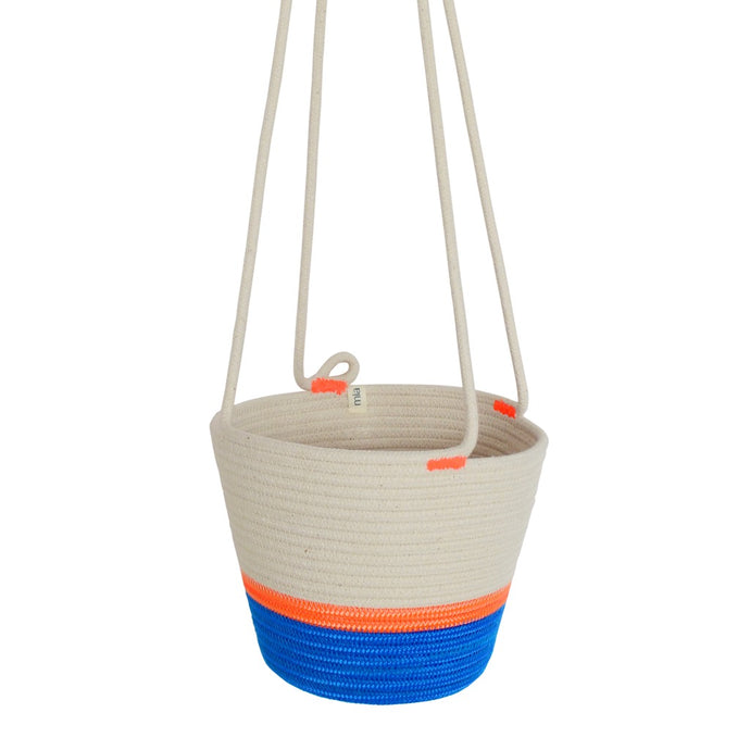 Hanging Planter - Ocean Blue
