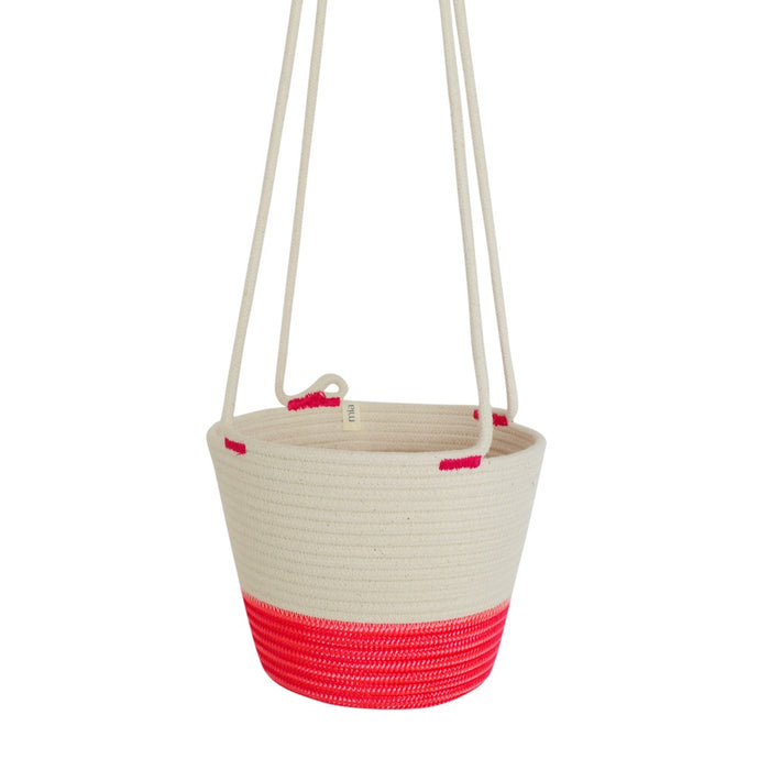 Hanging Planter - Flamingo Pink Only