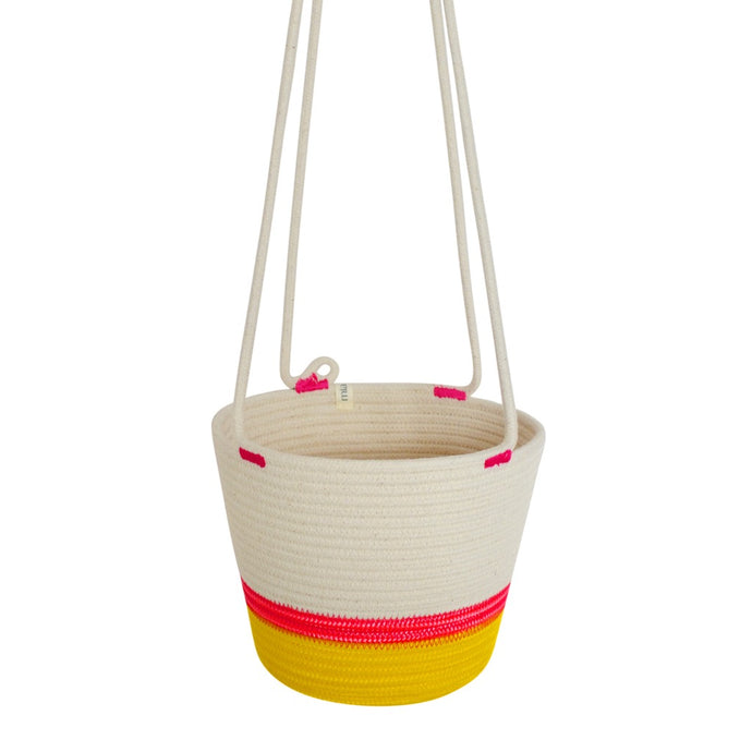 Hanging Planter - Sunrise Yellow