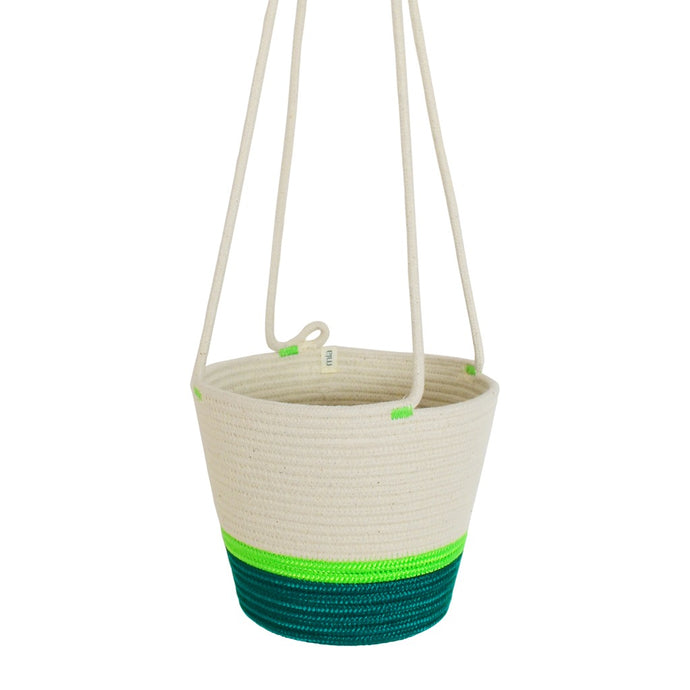 Hanging Planter - Moss Green