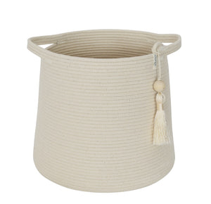Conical Basket - Ivory