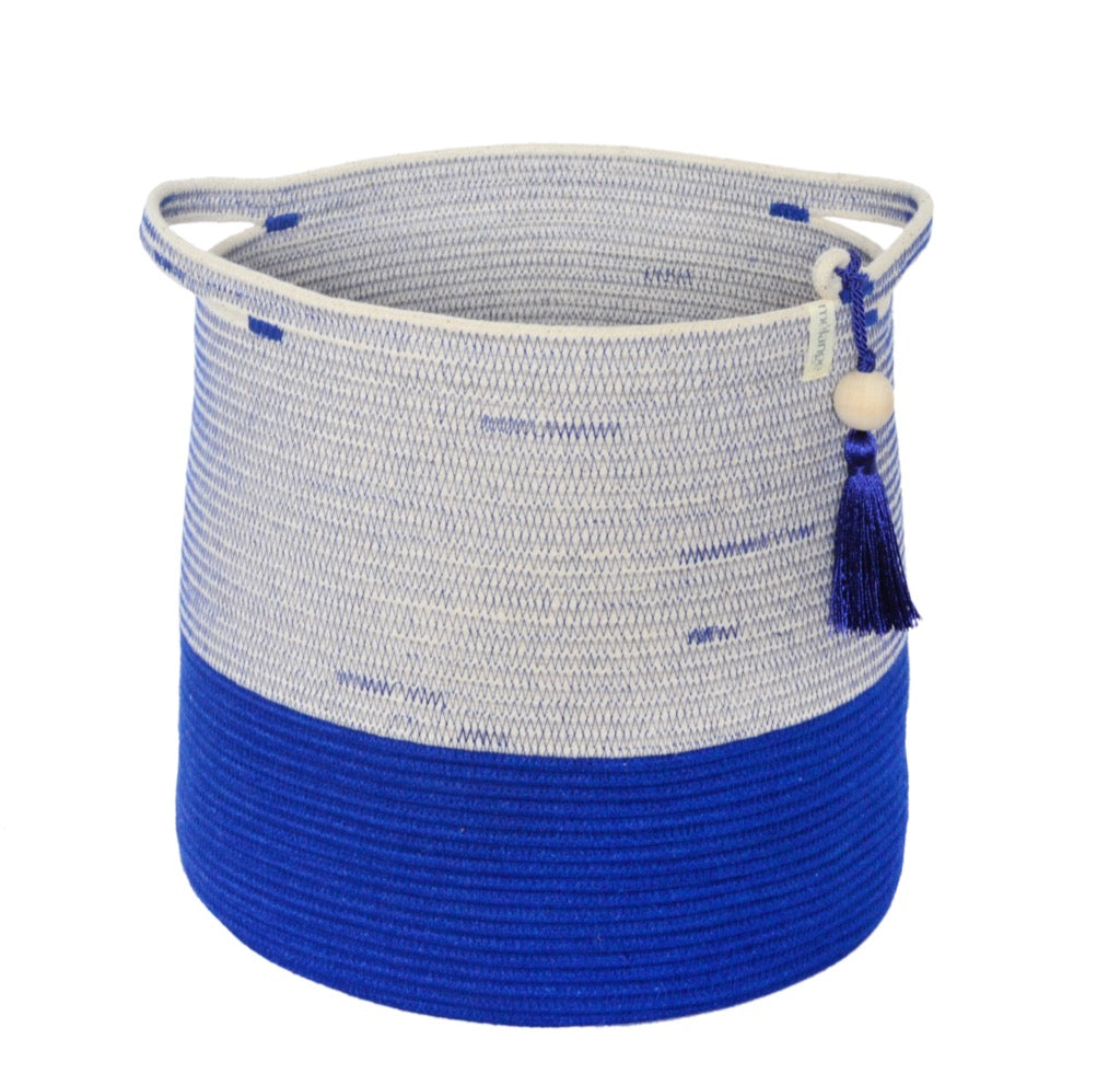 Conical Basket - Royal Blue