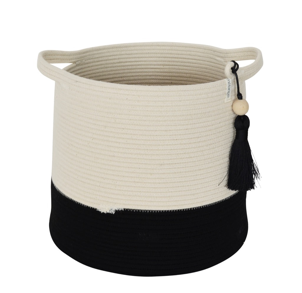 Conical Basket - Black Block