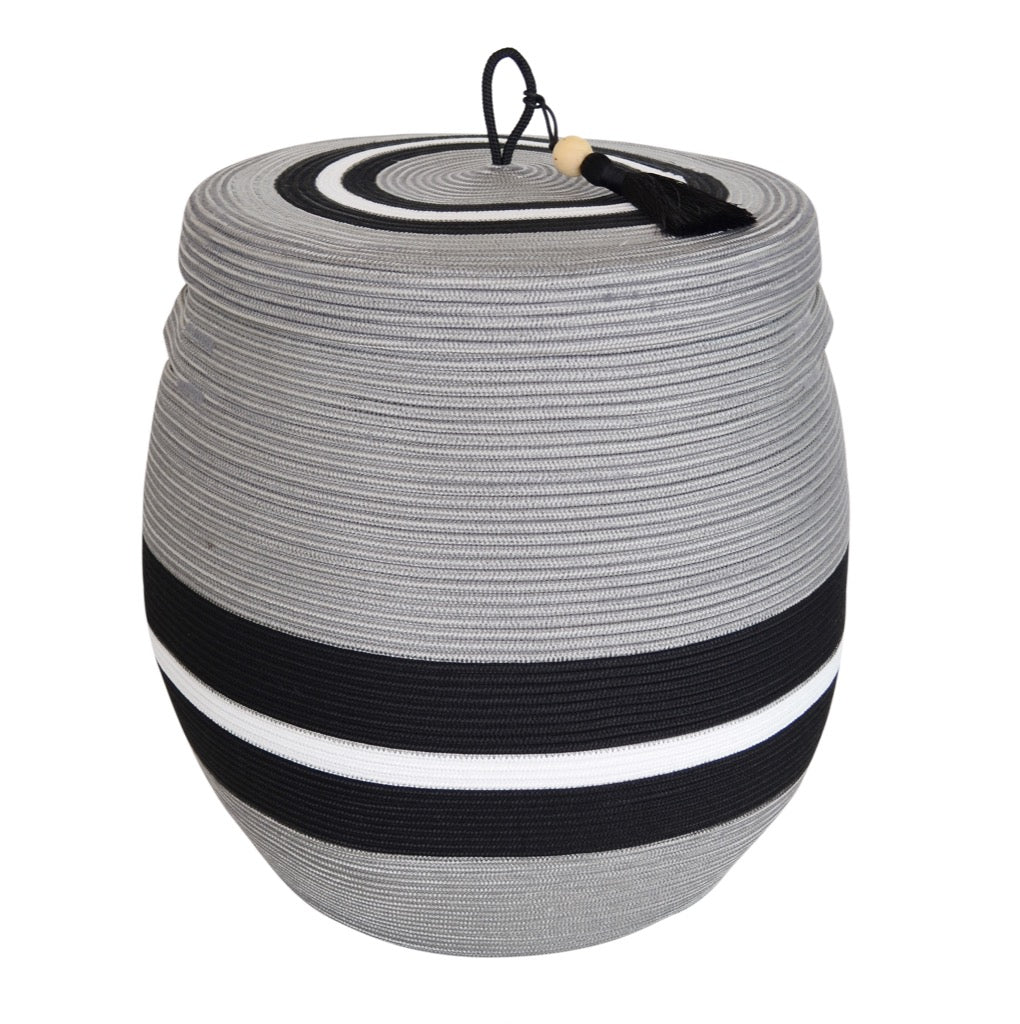 Lidded Basket Large - Mbizi