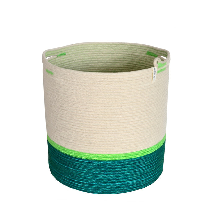 Handle Cylinder Basket - Celebrate Spring & Summer