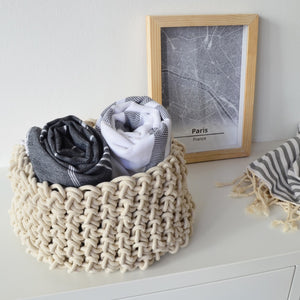 Loadshedding Storage Basket - Ivory