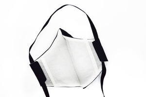 Fabric Face Mask Monochrome 3 Layer
