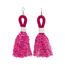 Earrings Fuchsia