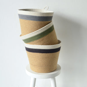 Planter Basket - Grey Jute Jungle