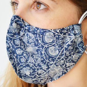 Summer Cotton 3 Layer Fabric Face Mask