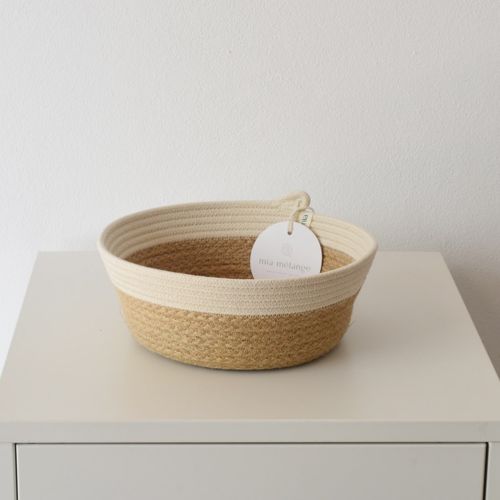 Jute & Ivory Bowl Medium - SALE