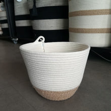 Planter Jute Block Medium - SALE