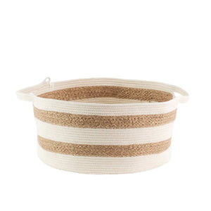 Handle Basket Jute Mia Melange
