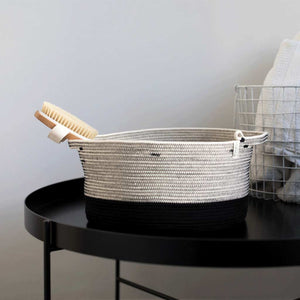 Handle Basket - Liquorice