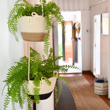 Hanging Planter - Jute Block