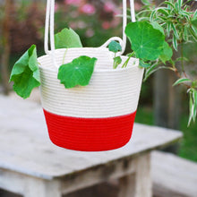 Hanging Planter Red