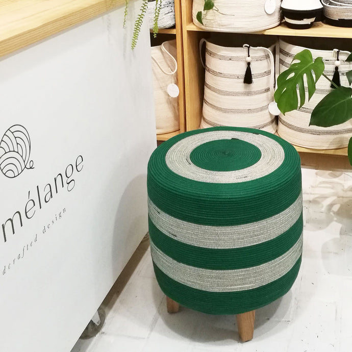 Greenery Ottoman Mia Melange Furniture
