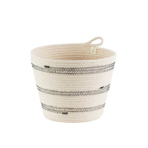 Planter Basket Stitched Mia Melange