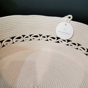Detailed Basket Ivory - SALE