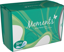 Load image into Gallery viewer, Moments Anion Panty Liners