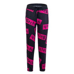 Women's Casual Cotton Drawstring Waist Letter Printed Sport Joggers Pants