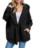 Coat - Casual Warm Pocket Lapel Coat