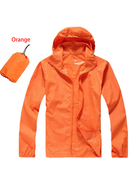 Quick Dry Waterproof Anti-UV Jackets Outdoor Sports Camping Hiking