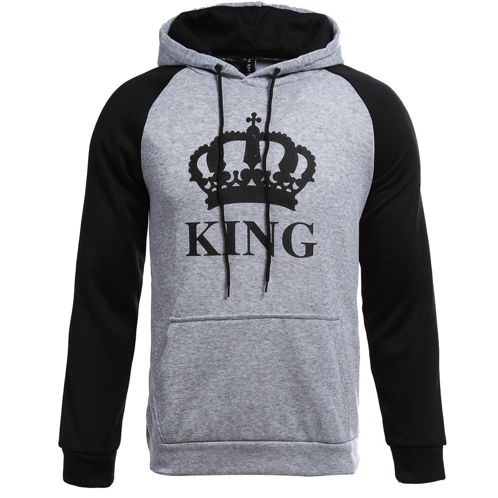 KING QUEEN Couple Fashion Sweater