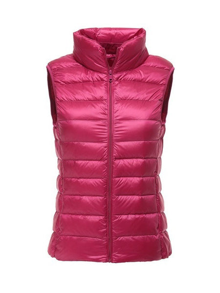 Ultra Light Duck Down Vest Waistcoat Jacket