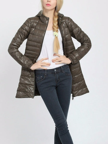 Women Fashion Ultra Light Down Jacket
