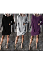 Women Casual Loose T-shirts Batwing Long Sleeve Top