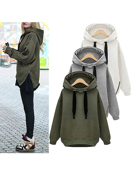 Winter Warm Hooded Sweatshirt