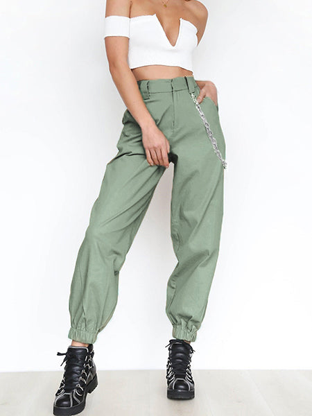 High Waist Trousers Loose Pants Runners Sweatpants