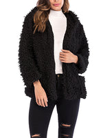 Long Sleeve Loose Thick Warm Coat