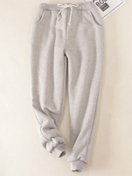 Pants - Cotton Casual Sport Color Pants