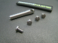 5 Hole Head Grip screws Stainless steel