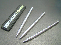 "3 1/2"" Stainless Steel 550 Paracord Lacing Stitching Needles"