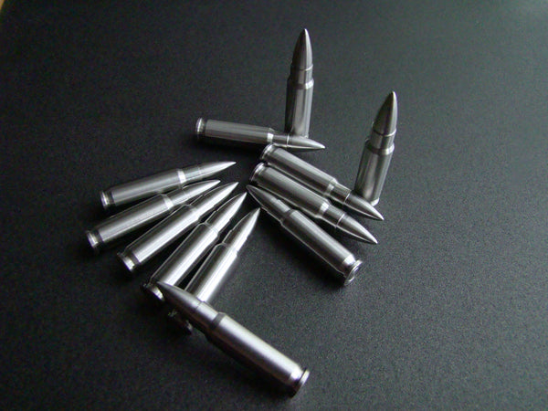 FN 5.7x28mm (12) Stainless whisky Stones