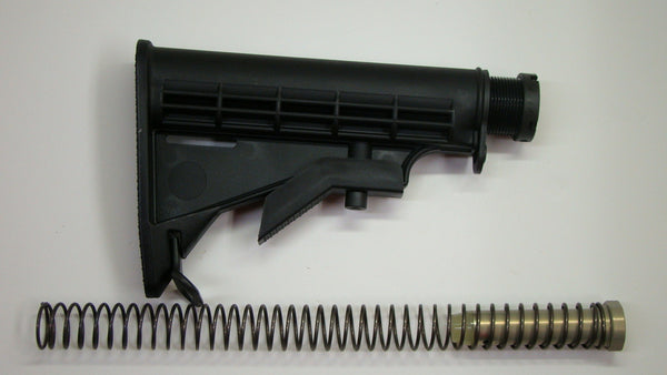 Butt Stock Parts And Assembly, AR-15
