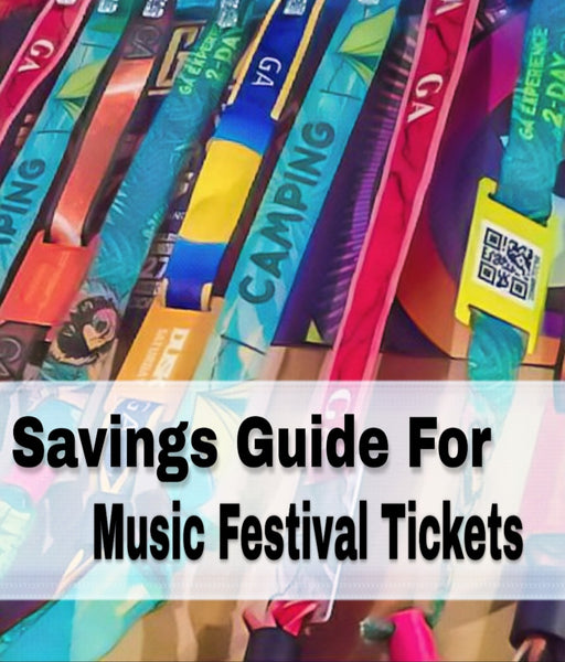 Guide To Saving On Music Festival Tickets