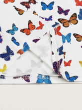 Load image into Gallery viewer, Summer Butterflies Crop Tube Top